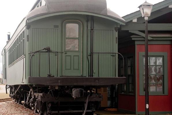 Thomas Edison's Train Car Printing Press