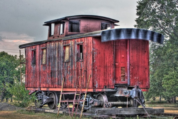 Old West Escape Caboose