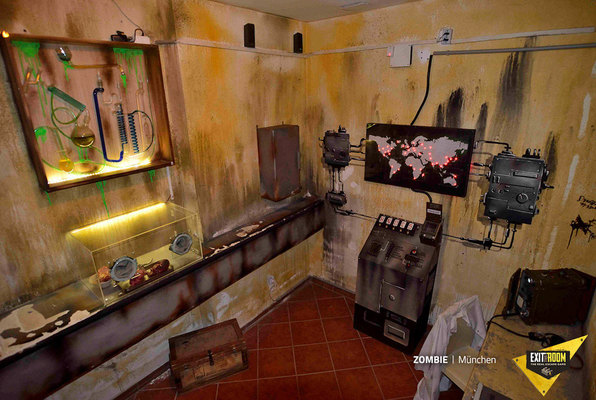 Zombie (Exit the Room Wien) Escape Room