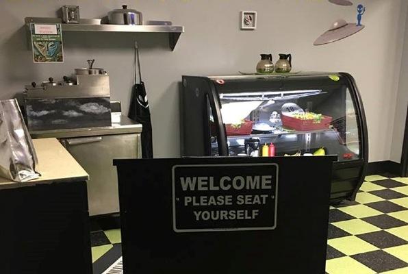 The UFO Diner