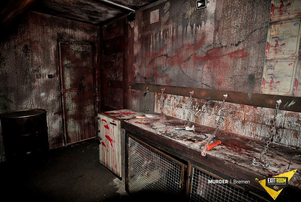 Murder (Exit the Room) Escape Room