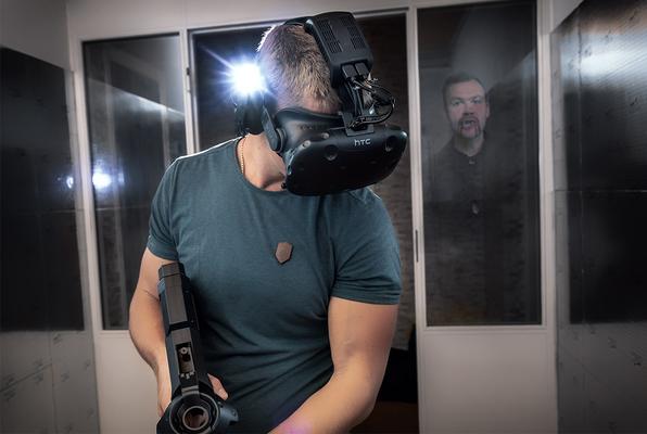 Virtual Reality (Secret Games) Escape Room