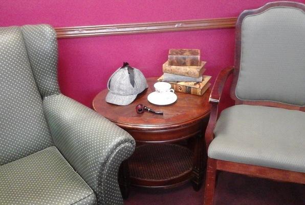 Moriarty's Parlor (Industrial Escape Rooms) Escape Room