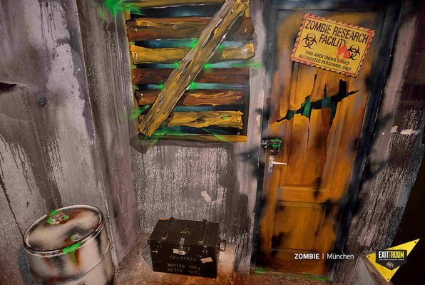 Zombie (Exit the Room Salzburg) Escape Room