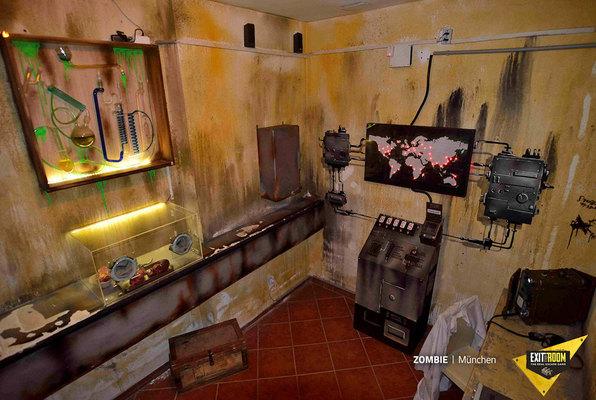 Zombie (Exit the Room Nürnberg) Escape Room