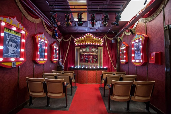 The Theater (Escape the Room Dallas) Escape Room