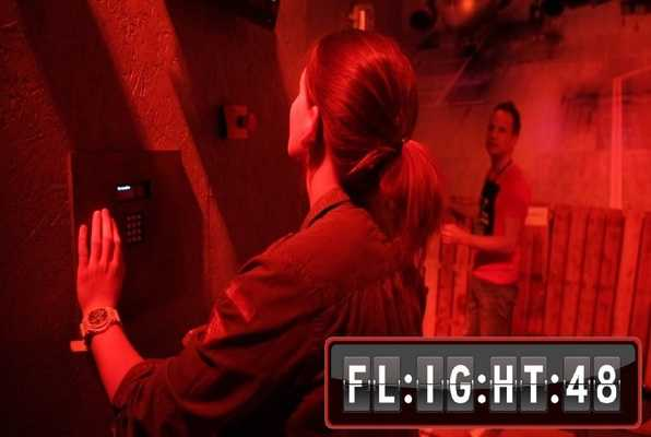 Flight 48 (Escape 48) Escape Room