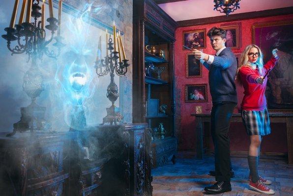 Únik Z Čarodějnické Školy Magie A Kouzel (Questerland) Escape Room