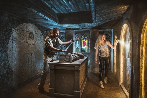 Da Vinci Code (ROOM Escape Room) Escape Room