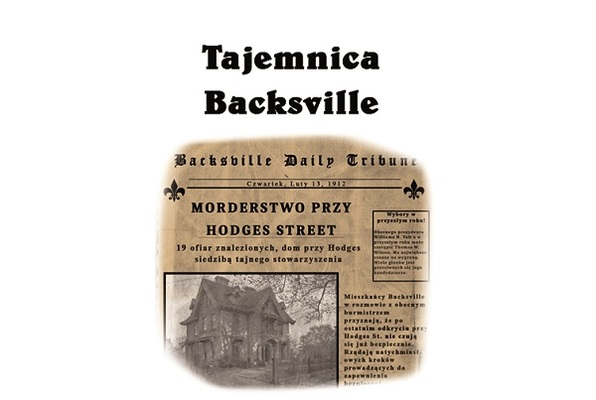 Tajemnica Backsville (Outroom) Escape Room