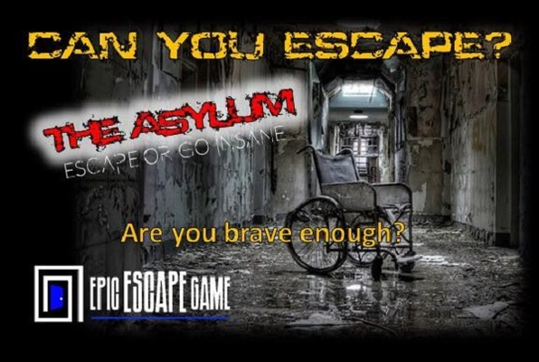 The Asylum (Epic Escape Game) Escape Room