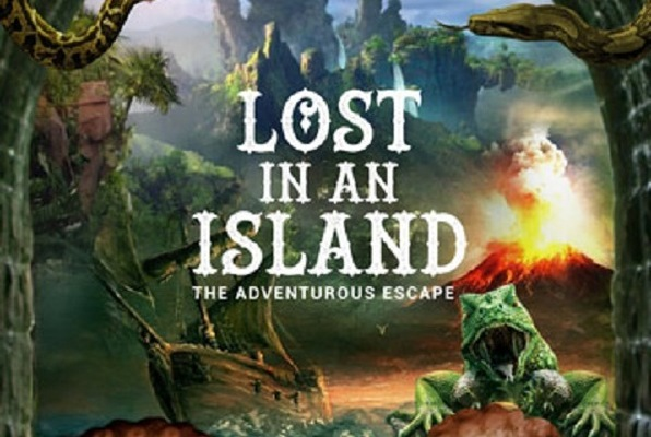 LOST IN AN ISLAND - THE ADVENTUROUS ESCAPE