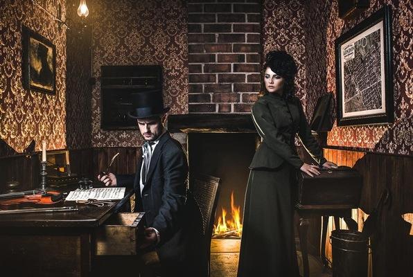 Sherlock Holmes contra el Diablo Londinense