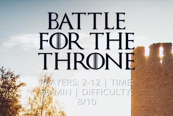 Battle for the Throne (LI Escape Game) Escape Room