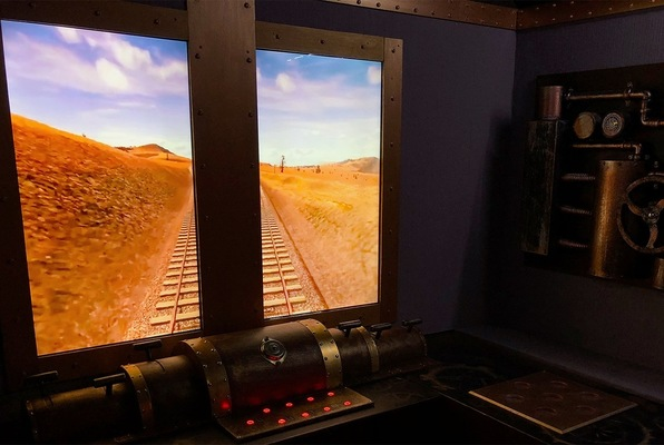Steampunk Train (Escape Quest) Escape Room