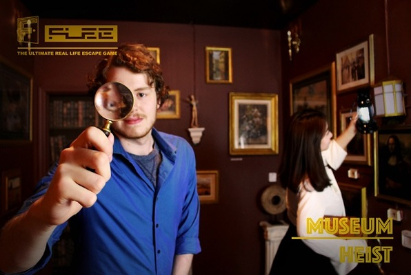 Museum Heist (FLEE) Escape Room